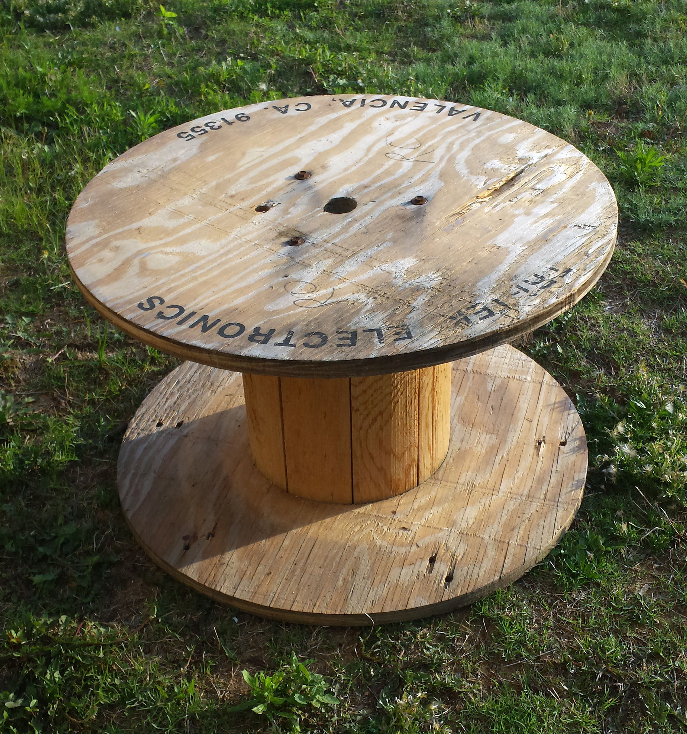 wood projects with wooden spools pdf plans